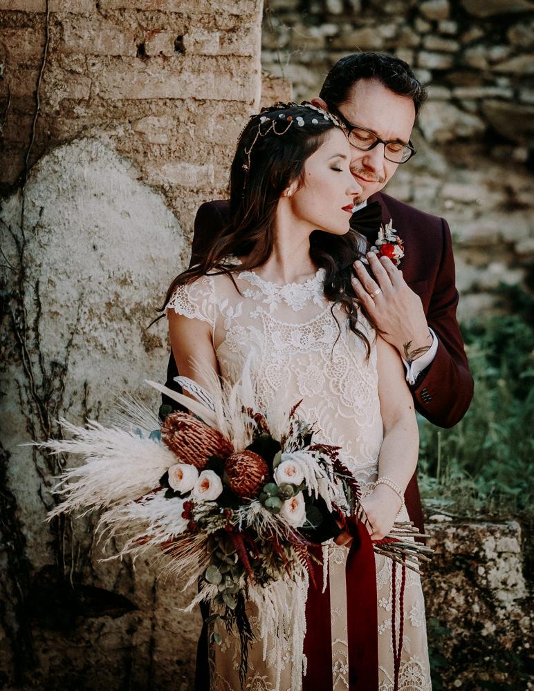 boda wedding boho vintage