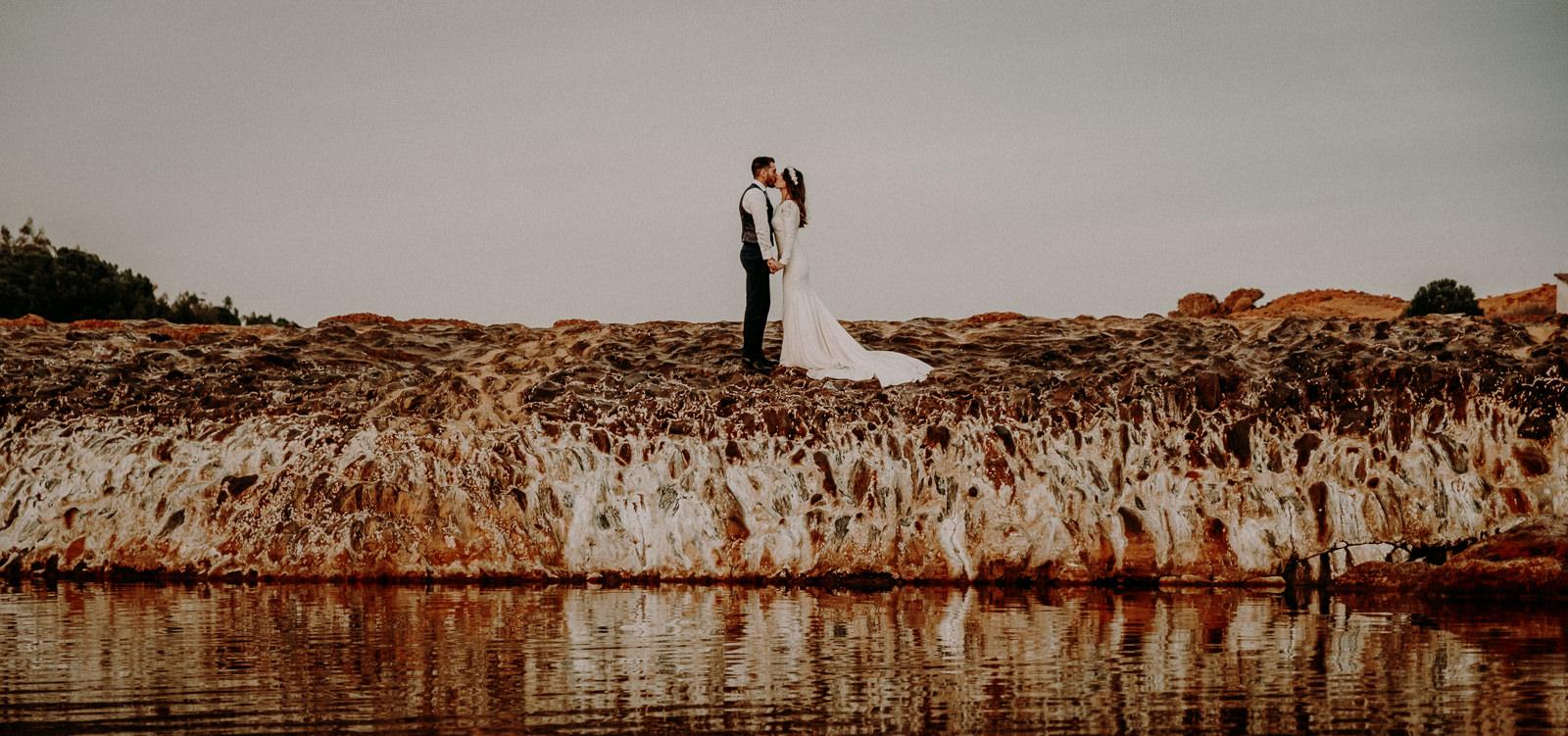 boda wedding postboda montaña playa